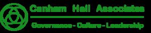 Canham Hall logo in green